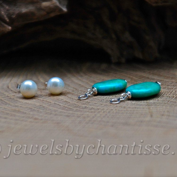Pareloorstekers met Chrysocolla